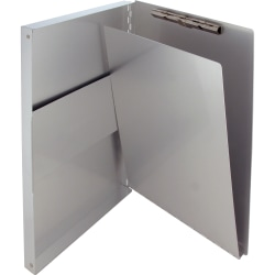 Saunders Snapaks Form Holder Storage Clipboard, Legal Size, Silver