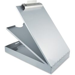 Saunders Cruiser Mate Form Holder Storage Clipboard, Letter Size, Silver