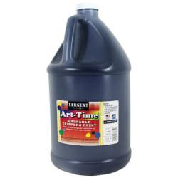 Sargent Art® Art-Time Washable Tempera Paint, 1 Gallon, Black