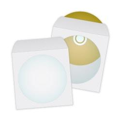 """Quality Park® CD/DVD Envelopes, 4 7/8"""" x 5"""", White, Box Of 100"""