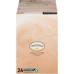 Twinings® Chai Latte Single-Serve K-Cups®, 12.72 Oz, Carton Of 24