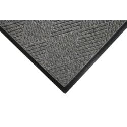 M+A Matting Waterhog Eco Premier Classic Floor Mat, 3'H x 10'W, Gray Ash