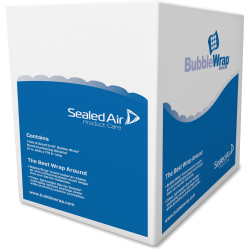 """Sealed Air Ready-To-Roll Bubble Packing Material, 12"""" x 175'"""