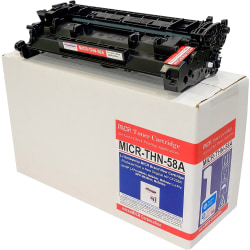 microMICR MICR Toner Cartridge - Alternative for HP 58A - Black - Laser - 3000 Pages - 1 Each