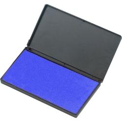 Charles Leonard Foam Stamp Pad, Blue