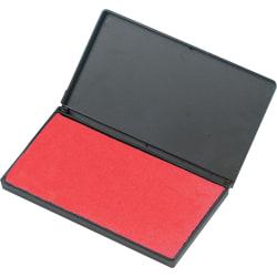 Charles Leonard Foam Stamp Pad, Red