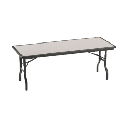 "Iceberg IndestrucTable™ Folding Table, 30"" x 72"", Granite"