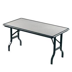 "Iceberg IndestrucTable™ Folding Table, 30"" x 96"", Granite"