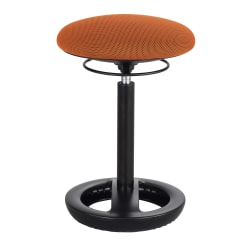 Safco® Twixt® Active Seating Chair, Desk Height, Orange