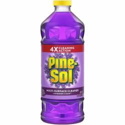 Pine-Sol Multi-surface Cleaner - Concentrate Liquid - 0.38 gal (48 fl oz) - Lavender Scent - 480 / Pallet - Purple