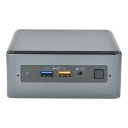 SimplyNUC NUC8i7BEH Mini Desktop PC, Intel® Core™ i7, 16GB Memory, 512GB Solid State Drive, Windows® 10 Home, 910-ZS1A-041