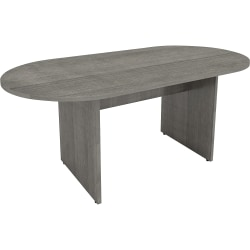 """Lorell® Essentials Conference Table, 29-1/2""""H x 72""""W x 36""""D, Weathered Charcoal"""