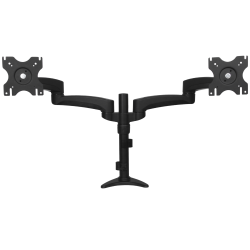 """StarTech.com Desk Mount Dual Monitor Arm - Dual Articulating Monitor Arm - Height Adjustable Monitor Mount - For VESA Monitors up to 24"""" - 2 Display(s) Supported - 12"""" to 24"""" Screen Support - 60 lb Load Capacity"""