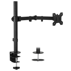 Mount-It! Monitor Arm Desk Mount, Black, MI-2751