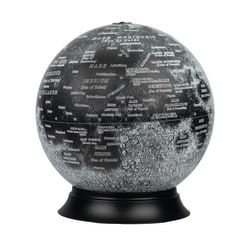 "Replogle National Geographic Illuminated Moon Globe, 14"" x 12"", Multicolor"