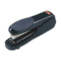 "MAX Flat Clinch Full-strip Stapler - 30 Sheets Capacity - 210 Staple Capacity - Full Strip - 1/4"" Staple Size - Black"