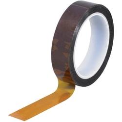 """Kapton® Sealing Tape, 3"""" Core, 1"""" x 108', 1 mil, Amber"""