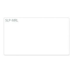 "Seiko SmartLabel SLP-MRL Multipurpose Labels, SKPSLPMRL, 1-1/8"" x 2"", White, 220 Labels Per Roll, Box Of 2 Rolls"