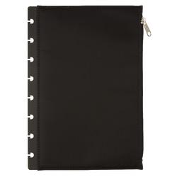 """TUL® Discbound Storage Pouch, 6 1/2"""" x 9 1/2"""", Black"""