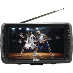 "Naxa NT-70 7"" LCD TV - Shiny Black - 800 x 480 Resolution"