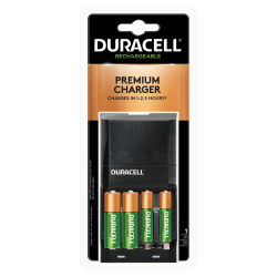 Duracell® Ion Speed 4000 Battery Charger With AA/AAA NiMH Batteries
