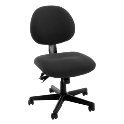 OFM 241 Series 24-Hour Mid-Back Task Chair, Black