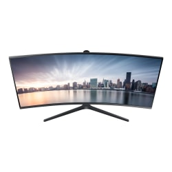 "Samsung TDSourcing C34H890WJN - CH890 Series - LED monitor - curved - 34"" (34"" viewable) - 3440 x 1440 UWQHD @ 100 Hz - VA - 300 cd/m² - 3000:1 - 4 ms - HDMI, DisplayPort, USB-C - dark silver"