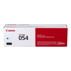 Canon Genuine 054 Toner Cartridge, Cyan, CRG 054 C (3023C001)