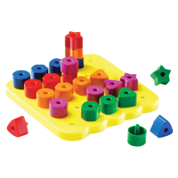Learning Resources® Stacking Shapes Pegboard