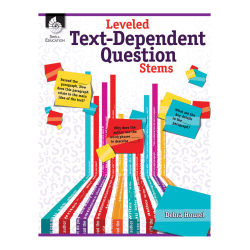 Shell Education Leveled Text-Dependent Question Stems