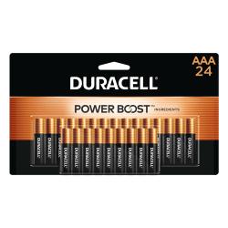 Duracell® Coppertop Alkaline AAA Batteries, Pack Of 24 Batteries