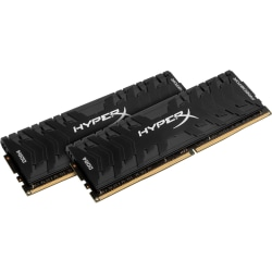 HyperX Predator - DDR4 - kit - 32 GB: 2 x 16 GB - DIMM 288-pin - 3200 MHz / PC4-25600 - CL16 - 1.35 V - unbuffered - non-ECC - black