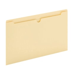 "Office Depot® Brand Manila Single-Top File Jackets, 8 1/2"" x 14"", Legal Size, Box Of 100 File Jackets"