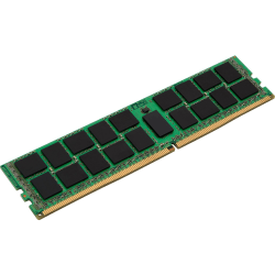 Kingston 8GB DDR4 SDRAM Memory Module - 8 GB - DDR4-2400/PC4-19200 DDR4 SDRAM - 2400 MHz - CL17 - 1.20 V - ECC - Registered - 288-pin - DIMM - Lifetime Warranty