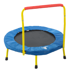 "The Original Toy Company Fold & Go Trampoline™, 35"" x 36"", Multicolor"