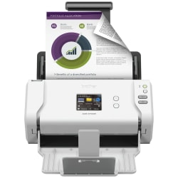 Brother® Wireless Color Duplex Desktop Document Scanner, ADS-2700W