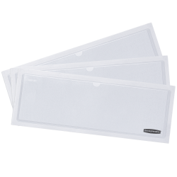 """Bankers Box® Label Pockets, 4"""" x 9"""", Clear, Pack Of 48"""