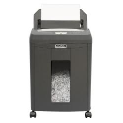 Boxis Autoshred 90-Sheet Micro-Cut Shredder, Gray