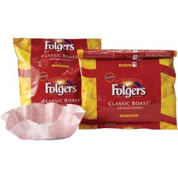 Folgers Classic Roast Coffee Filter Packs, 0.9 Oz, Box Of 40 Packs