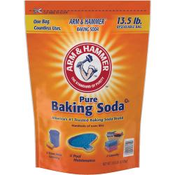 Arm & Hammer Pure Baking Soda - Powder - 216 oz (13.50 lb) - 80 / Carton - Orange