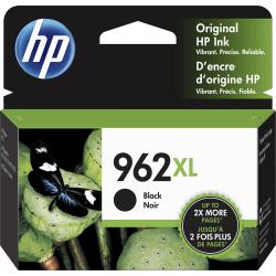 HP 962XL High Yield Original Ink Cartridge, Black (3JA03AN)