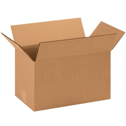 "Office Depot® Brand Corrugated Cartons, 14"" x 8"" x 8"", Kraft, Pack Of 25"