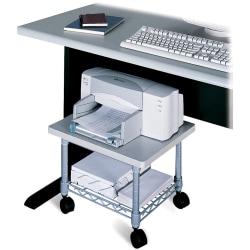 Safco® Underdesk Printer/Fax Stand, Gray