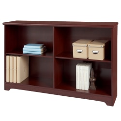 Realspace® Magellan Collection 2-Shelf Sofa Bookcase, Classic Cherry