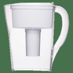 Brita® Space Saver 6-Cup Water Filter Pitcher, White