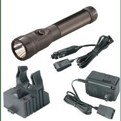 Streamlight® PolyStinger® C4® LED Rechargeable Flashlight, Black