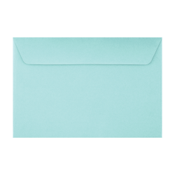 """LUX Booklet Envelopes With Peel & Press Closure, #6 1/2, 6"""" x 9"""", Seafoam, Pack Of 500"""