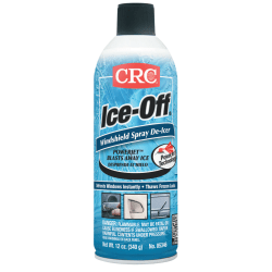 CRC Ice-Off® Windshield Spray De-Icers, 16 Oz Aerosol Can, Pack Of 12 Cans