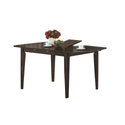 """Monarch Specialties Arya Dining Table, 30""""H x 60""""W x 35-1/2""""D, Cappuccino"""