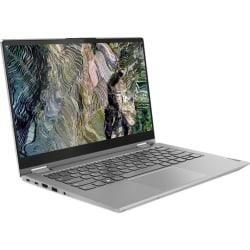 "Lenovo ThinkBook 14s Yoga ITL 20WE0014US 14"" Touchscreen 2 in 1 Notebook - Full HD - Intel Core i5 i5-1135G7 Quad-core (4 Core) 2.40 GHz - 8 GB RAM - 256 GB SSD - Mineral Gray - Windows 10 Pro - Intel Iris Xe Graphics"